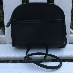 Vintage Coach Black Abbie Crossbody Bag